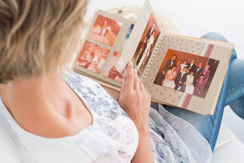 Herinneringsboek rouwtherapie