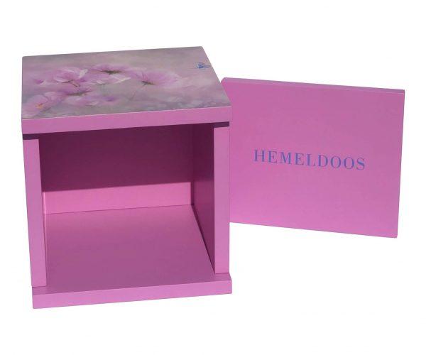 hemeldoos roze vliner